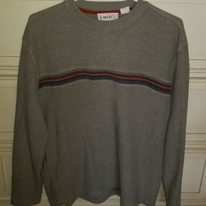 Mens striped sweat shirt